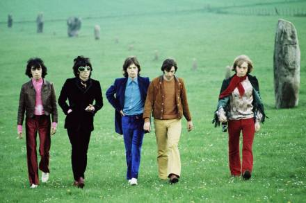 Rolling Stones, renklere dikkat! 1968, © David Bailey