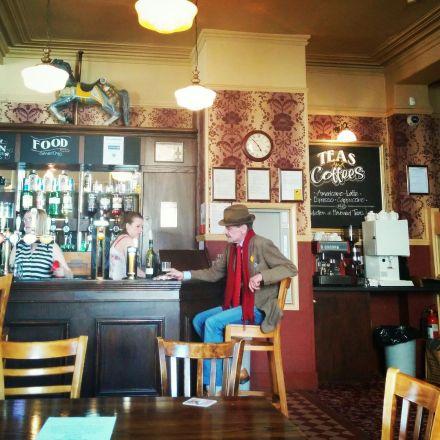 Daniel Defoe pub'dan bir kesit... (Fotoğraf: Duygu Özgür)