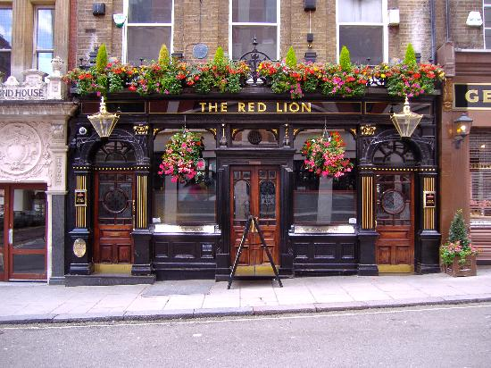 Tarihi İngiliz pub'larından biri...