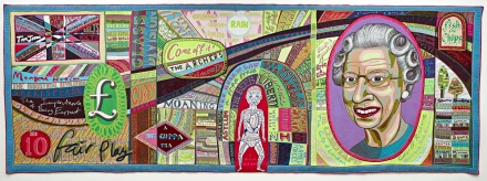 """Comfort Blanket"", Grayson Perry, 2014"