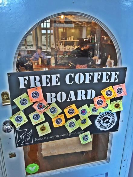 free coffee board