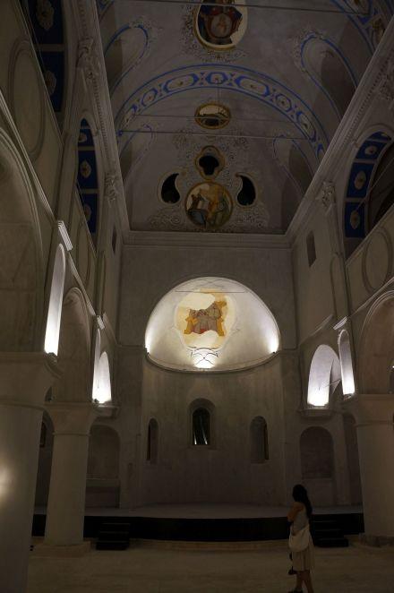 Çeşme merkezdeki kilise... (Fotoğraf: Özgür Yüzak)